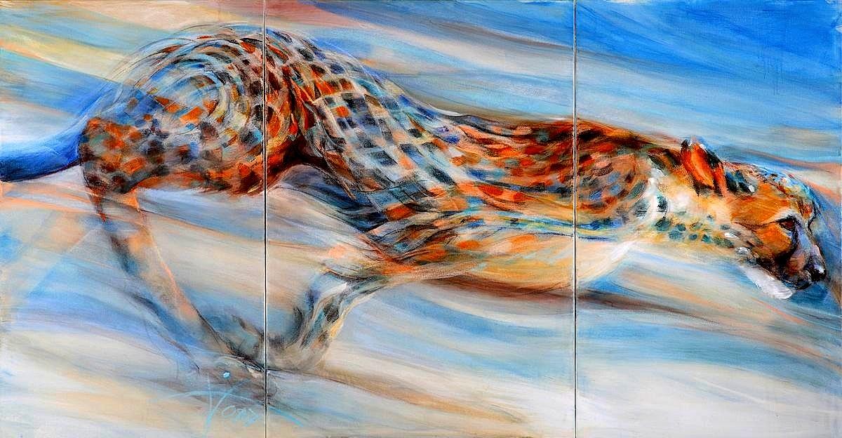 Tiermalerei-Gepard-Schoppmann